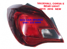 VAUXHALL CORSA  E  REAR LIGHT PASSENGER  SIDE  N /S       2015  2016  ( 3 DOOR MODEL ONLY )        NEW  NEW (1)